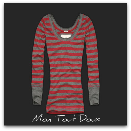 tee-shirt abercrombie tori