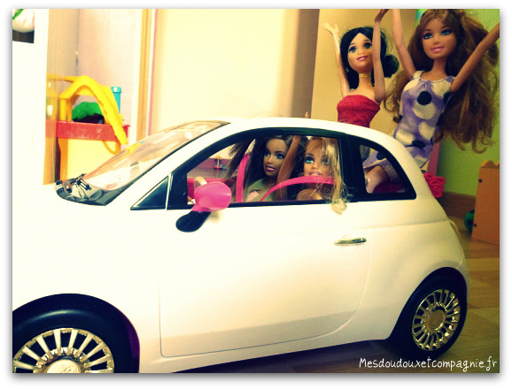 cabriolet fiat 500 c pour barbie mes doudoux et compagnie blog de maman. Black Bedroom Furniture Sets. Home Design Ideas