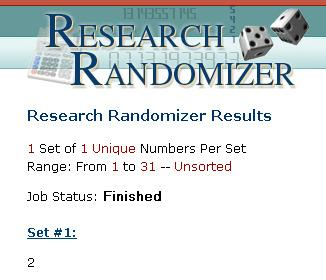 05182010-Results - Research Randomizer