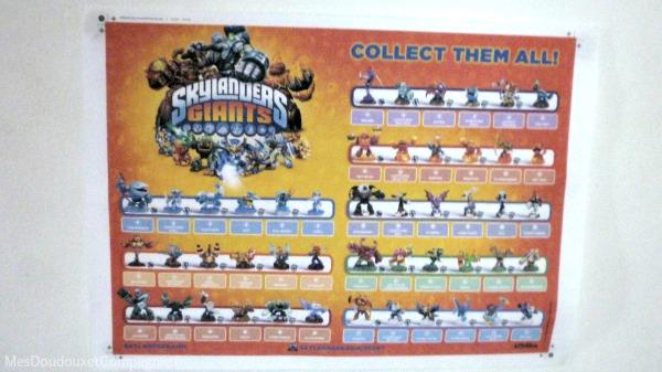 Toutes les figurines skylanders giants mes doudoux et compagnie blog d 39 une lilloise - Tous les skylanders ...