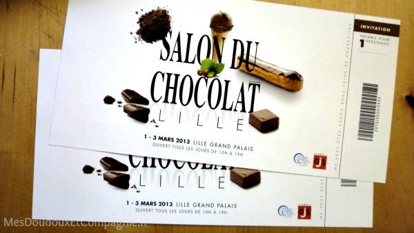 Invitation salon chocolat - Salon creation et savoir faire billet gratuit ...