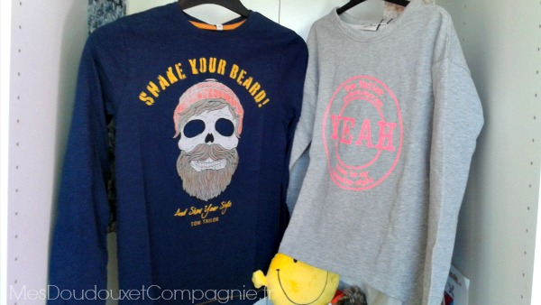 sweat enfant tom tailor rentree