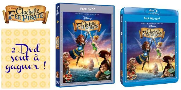 DVD fée clochette