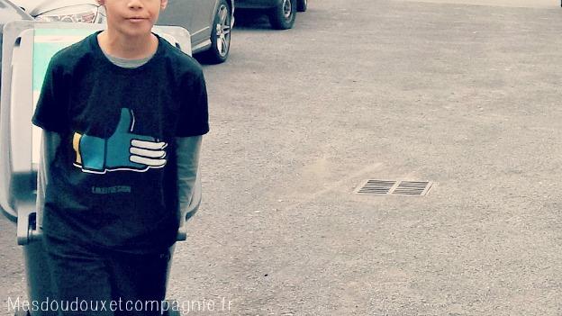 TEE-shirt camaloon
