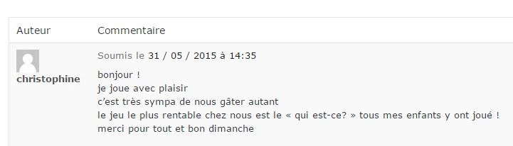 gagnant fisher price