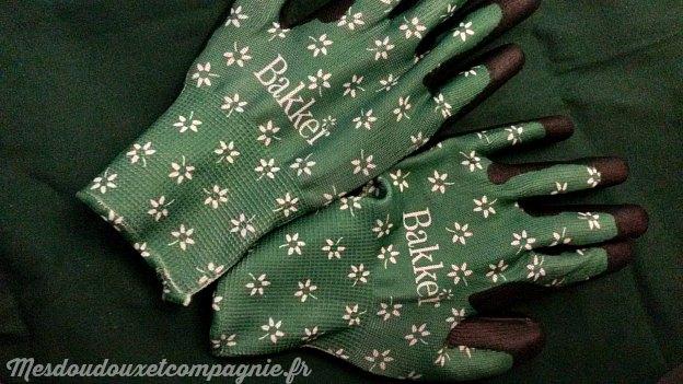gant vert jardinage