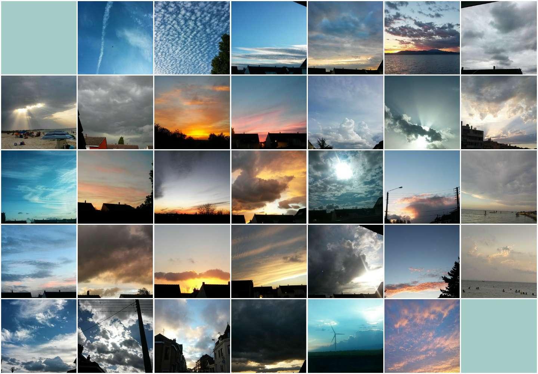 33 SKIES OF CLOUDS