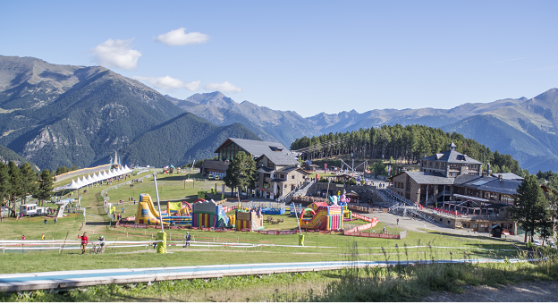 PARC GONFLABLE ANDORRE