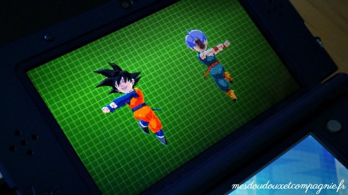 DRAGON BALL FUSION 3DS