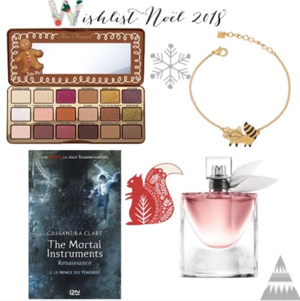 wishlist noel 2018