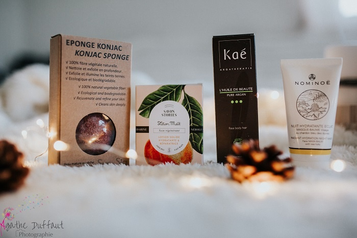 BOX beauté bio belle au naturel Noël