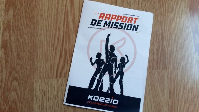 koezio rapport de mission