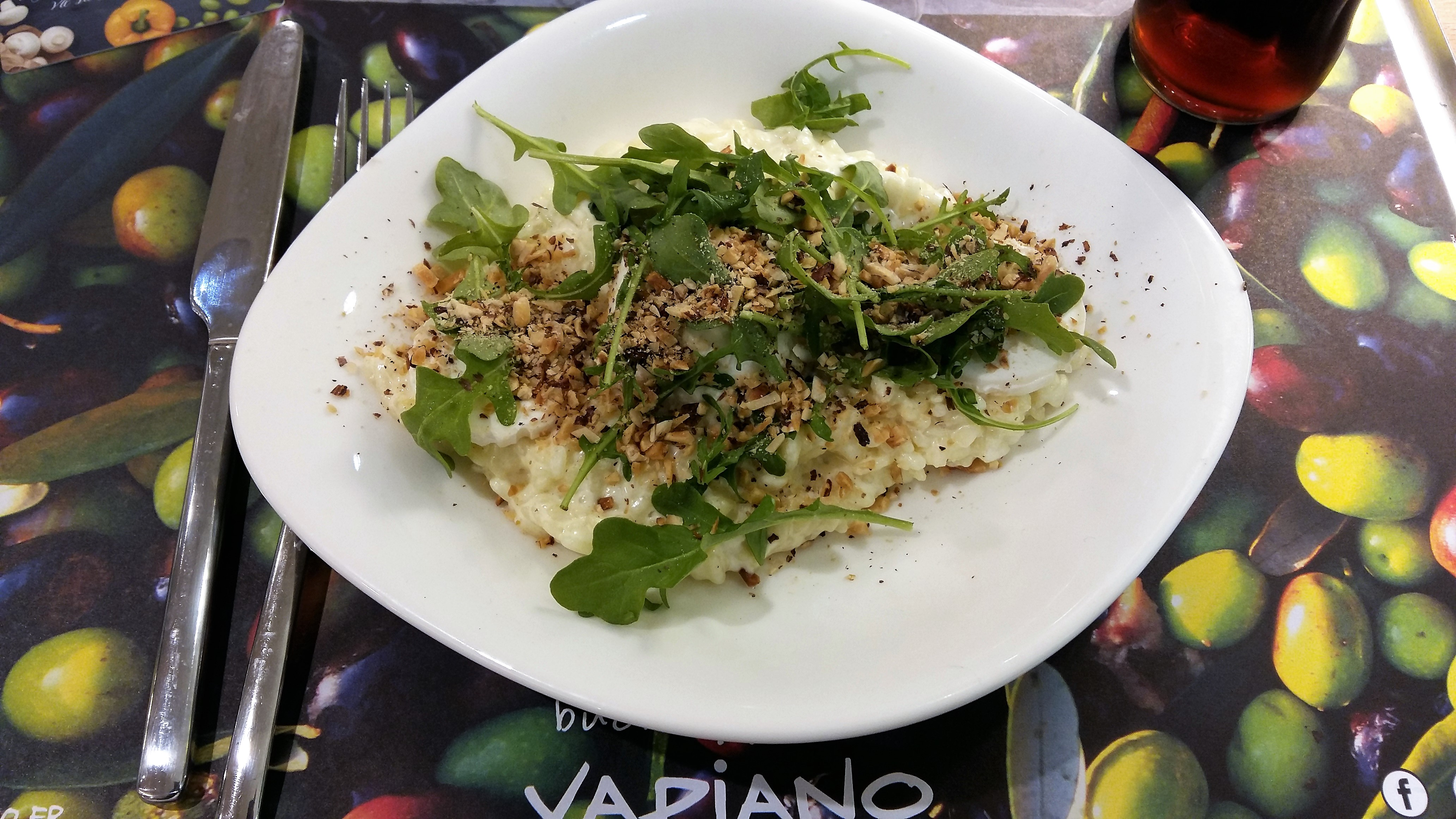 vapiano lille risotto 4 fromages